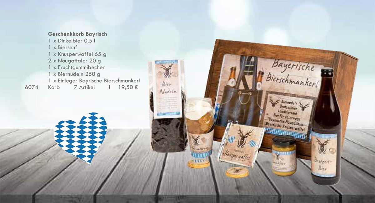 Kasberger bayrische Spezialitäten Geschenkpaket