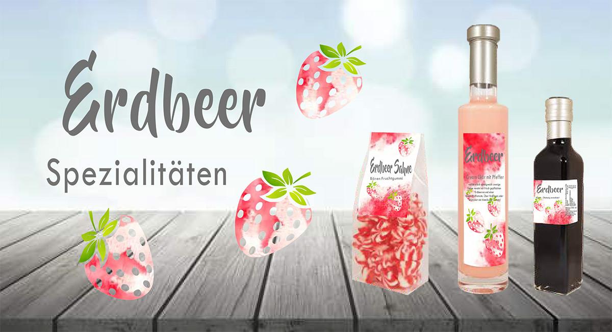 Kasberger Erdbeer Spezialitäten Geschenkpaket