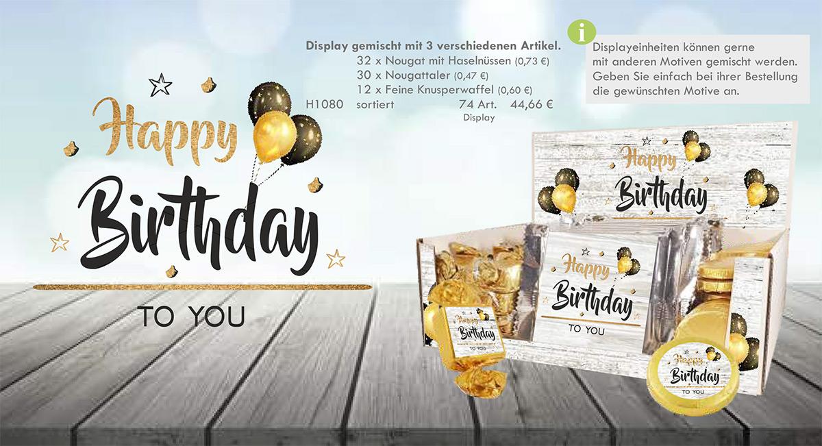Kasberger Happy Birthday Geschenkpaket